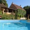 Het dompelbad van onze B&B in de Dordogne