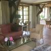 De woonkamer van onze B&B in de Dordogne