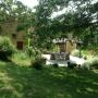 Buiten eten in onze B&B in de Dordogne